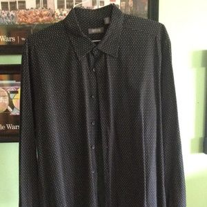 Kenneth Cole Reaction Mens Dress Shirt XL